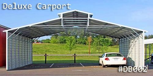 Arkansas Portable Buildings  - Carports - Deluxe