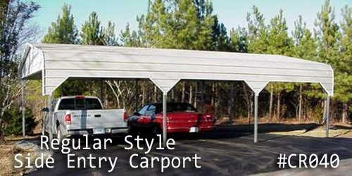 Arkansas Portable Buildings  - Carports - Cover