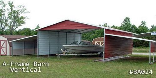 Arkansas Portable Buildings Boat Carpots & Shelters